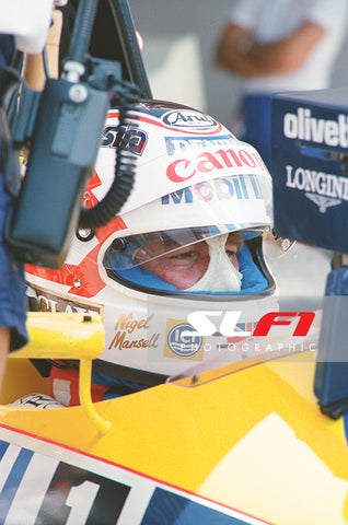 Nigel Mansell - 1988 Brazilian Grand Prix