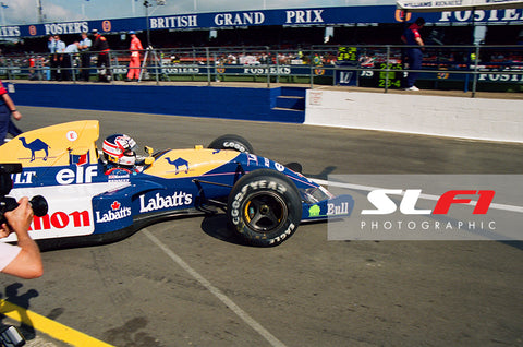 Nigel Mansell - 1991 British Grand Prix