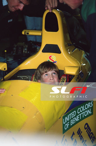 Prince William - 1991 British Grand Prix