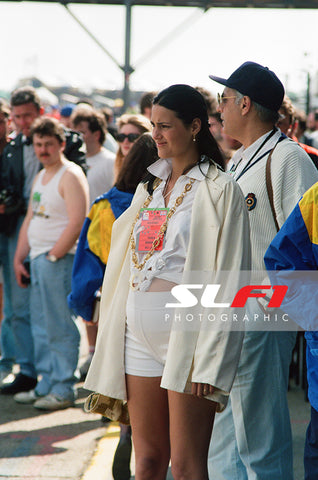 Yasmin Le Bon - 1991 British Grand Prix