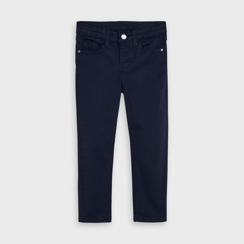 Navy Basic Slim Fit Trouser