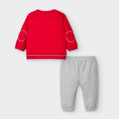 Red Train 2-Piece Set