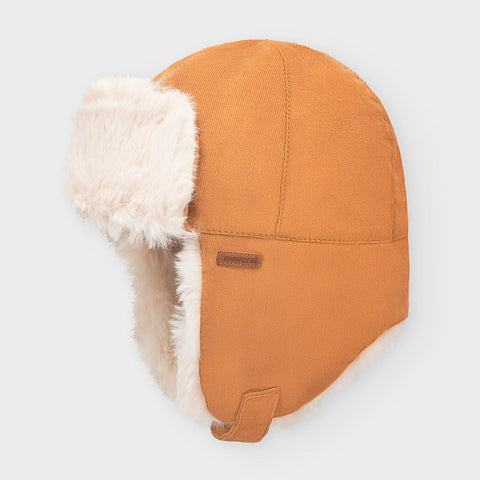 Aviator Hat with Faux Fur Lining