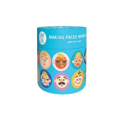 Making Faces Memory Game