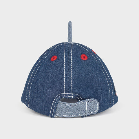 Denim Shark Baseball Cap