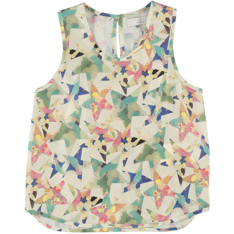 Scattered star multicoloured tank