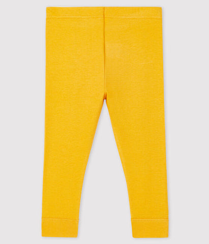 Yellow Knit Leggings