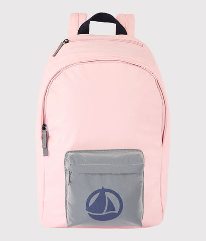 Pink Backpack with Iconic Sailboat