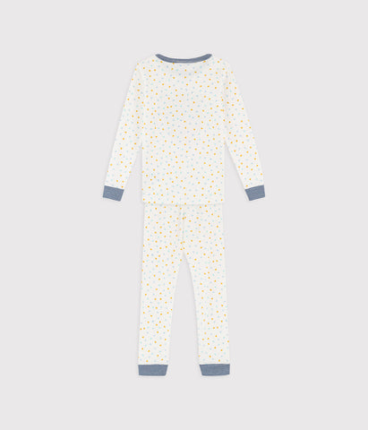 Cream Confetti Pyjama Set