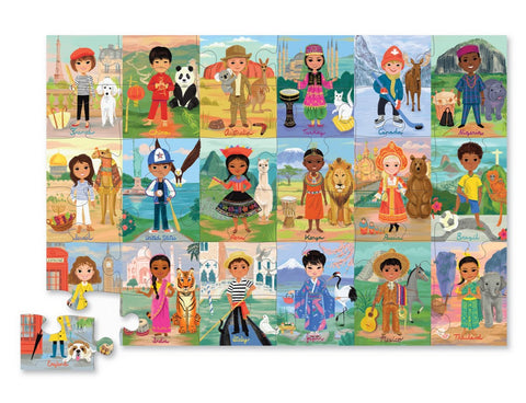 Children of the World Puzzle (36pcs)