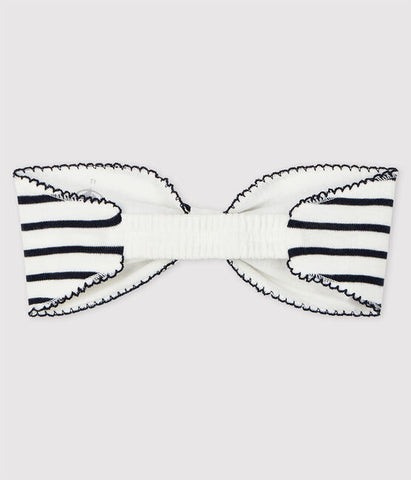 Navy Striped Headband