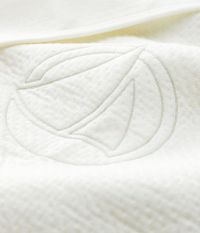 White Organic Cotton Blanket