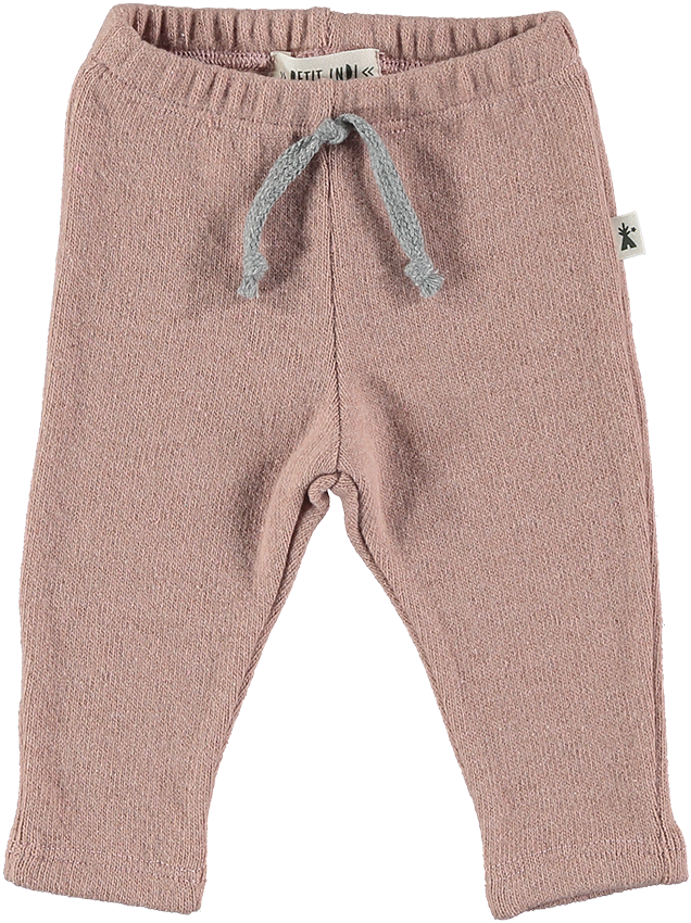 Dusty Rose Fleece Joggers