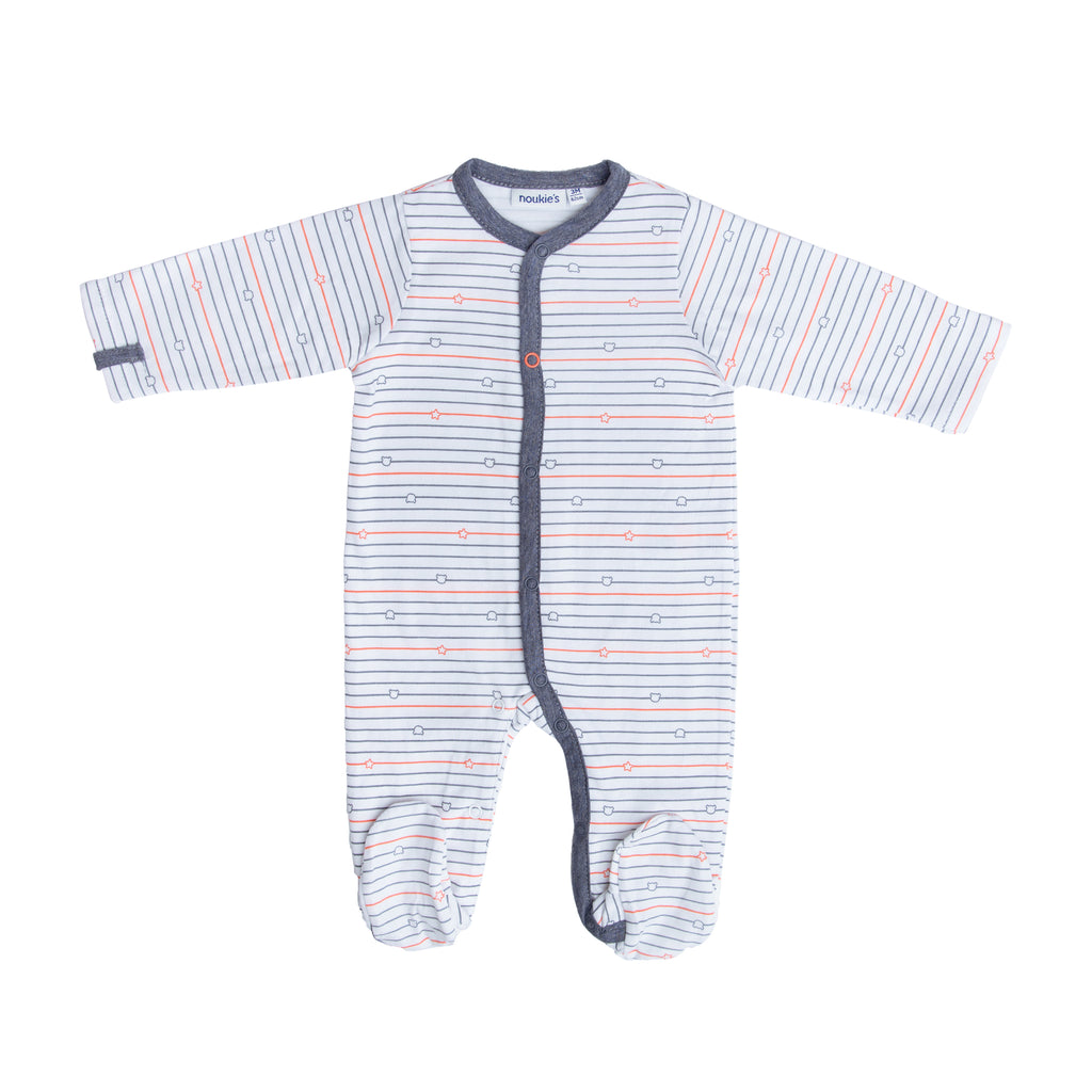 Blue and Red Striped Pyjama