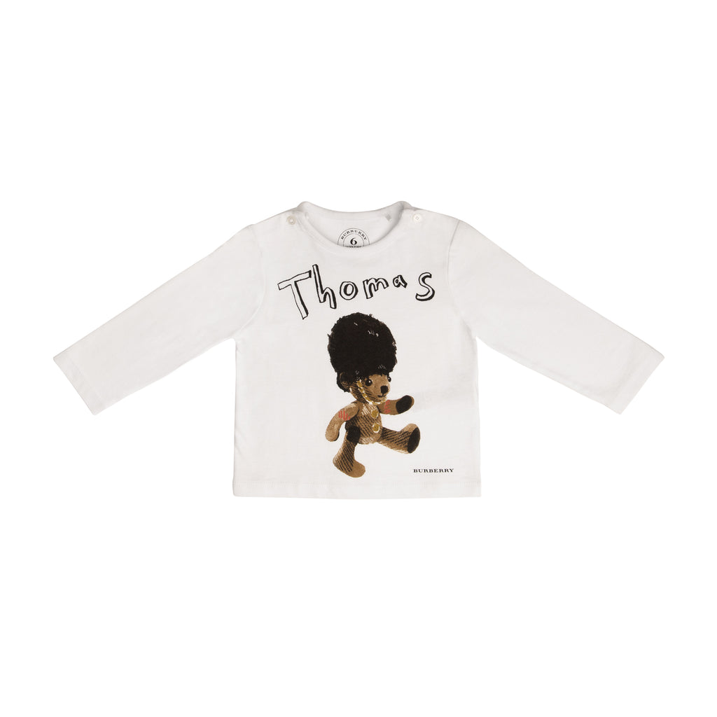 "Long-sleeved ""Thomas"" graphic t-shirt"