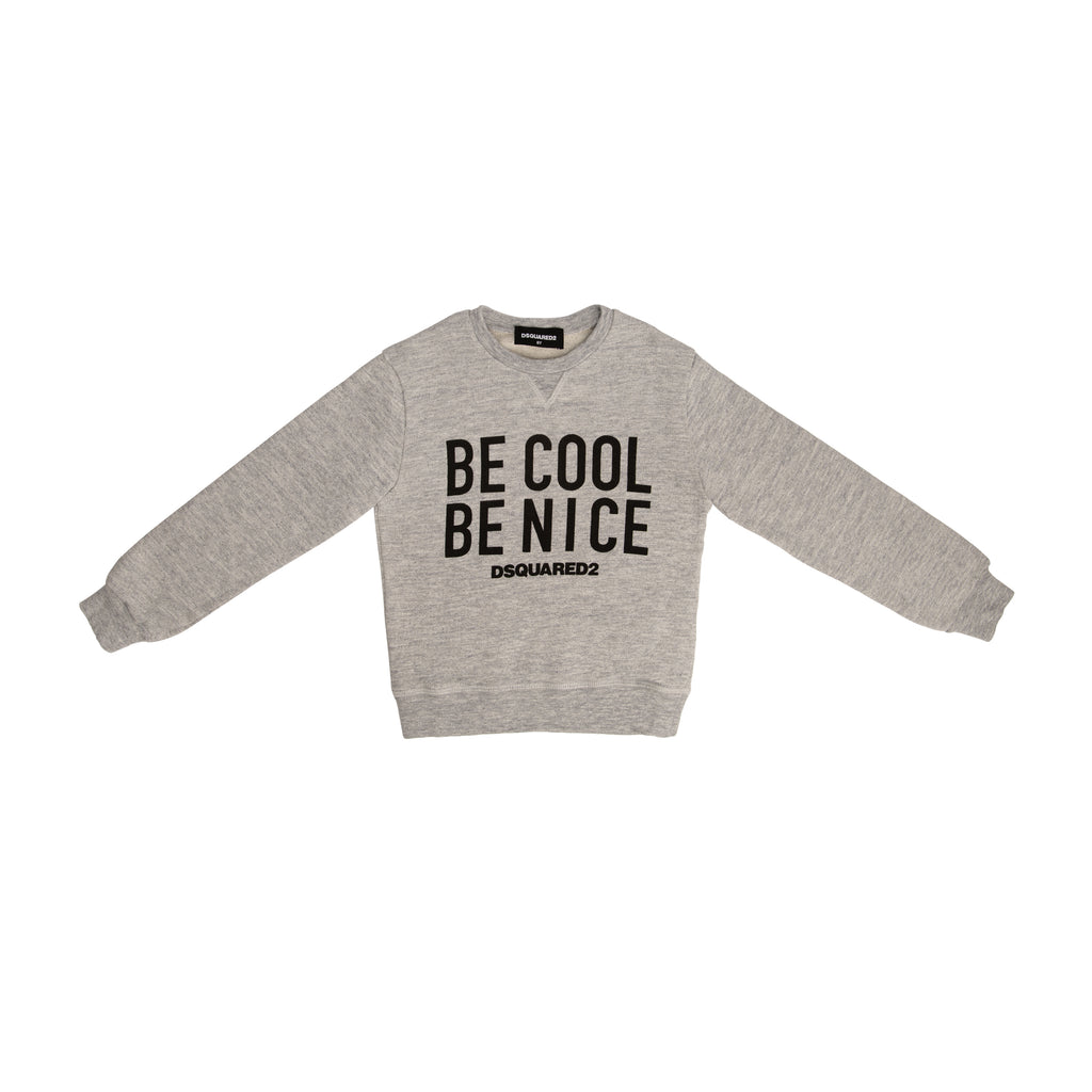 """BE COOL BE NICE"" sweater"
