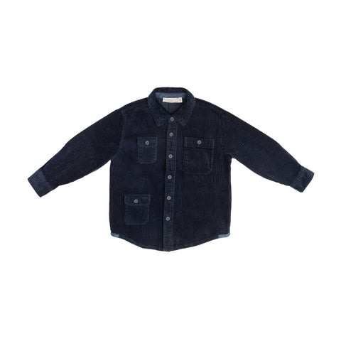 Navy corduroy shirt