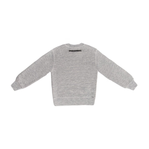 "Grey ""Caten BROS"" crew neck sweater"