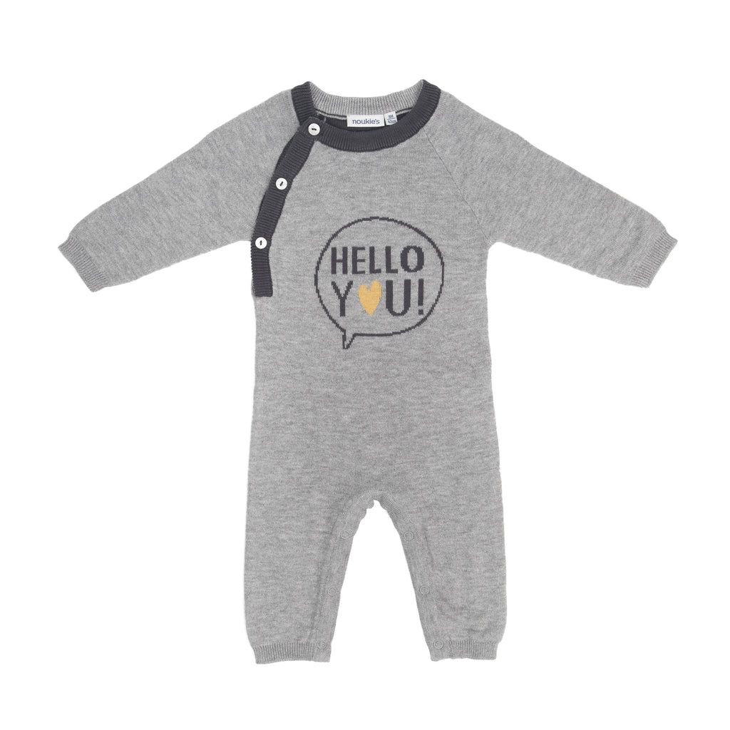 """Hello You"" Knit One-piece"