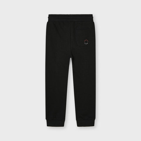 Charcoal Basic Joggers with Drawstring