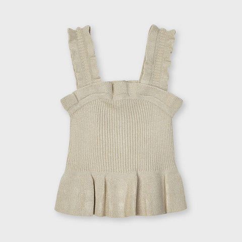 Sand Rib Knit Sleeveless Top