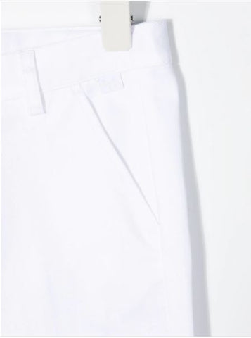 Classic white trousers
