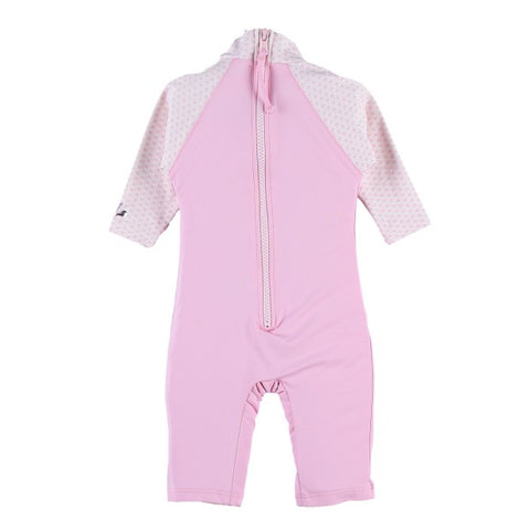 Pink Coverall UV Swimsuit
