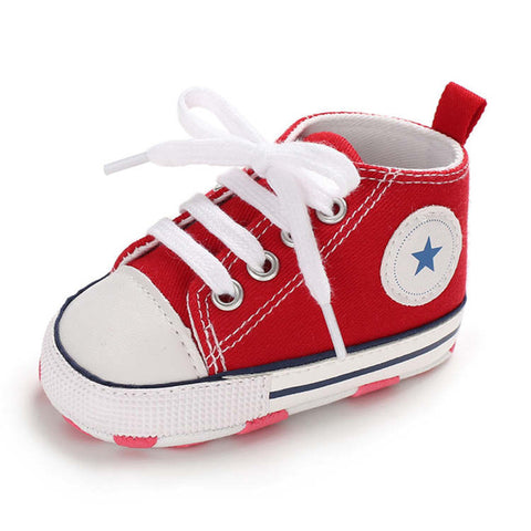 Baby's Option All-Star Inspired Comfy Kid's sneakers
