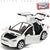 White Tesla model X toy car