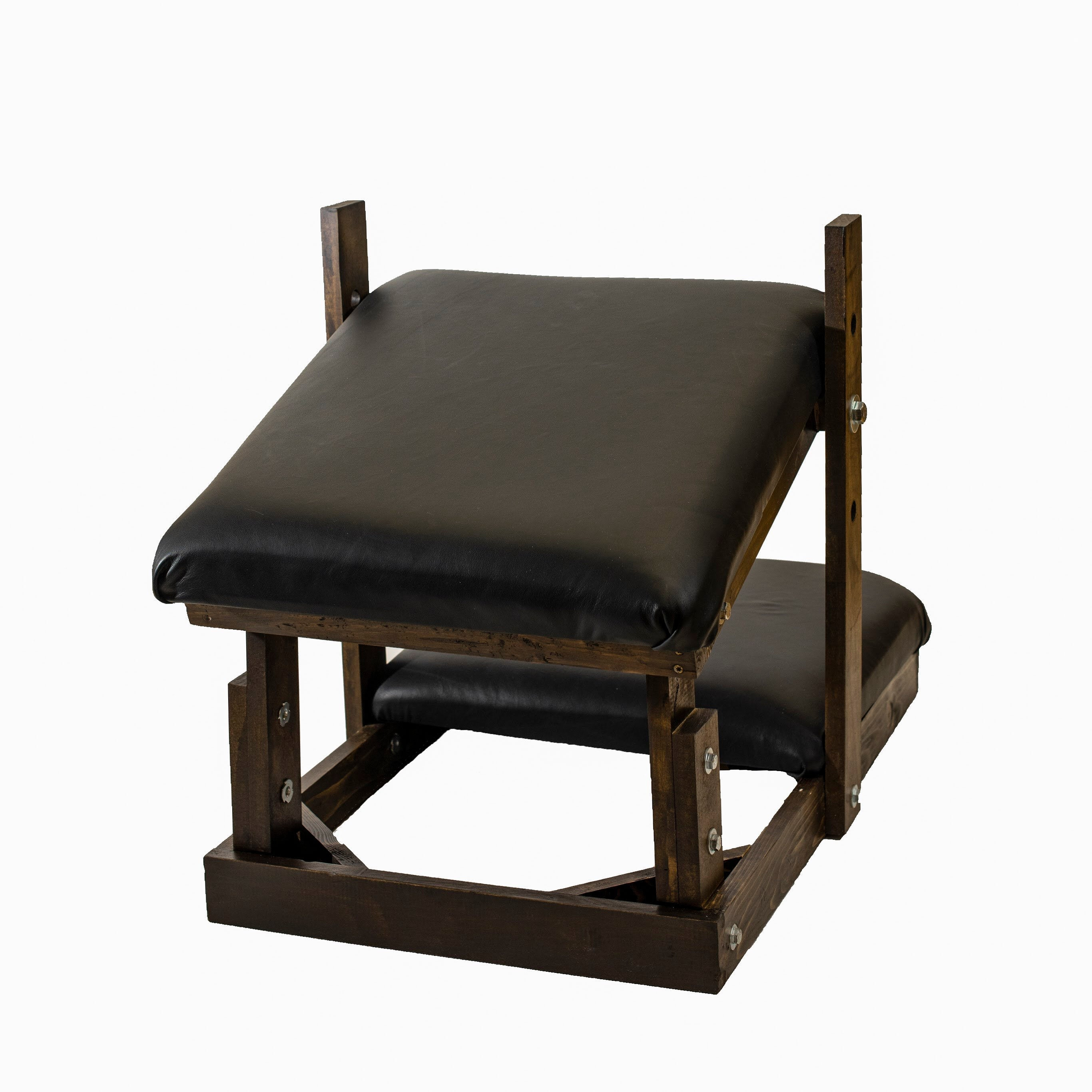 Large Deluxe Kneeler / BDSM Spanking Bench with Tie Downs and Angle Adjustment