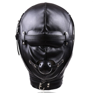 Leather Padded Hood
