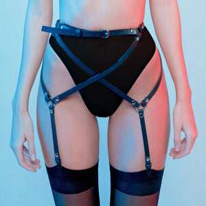 Leather thigh Harness