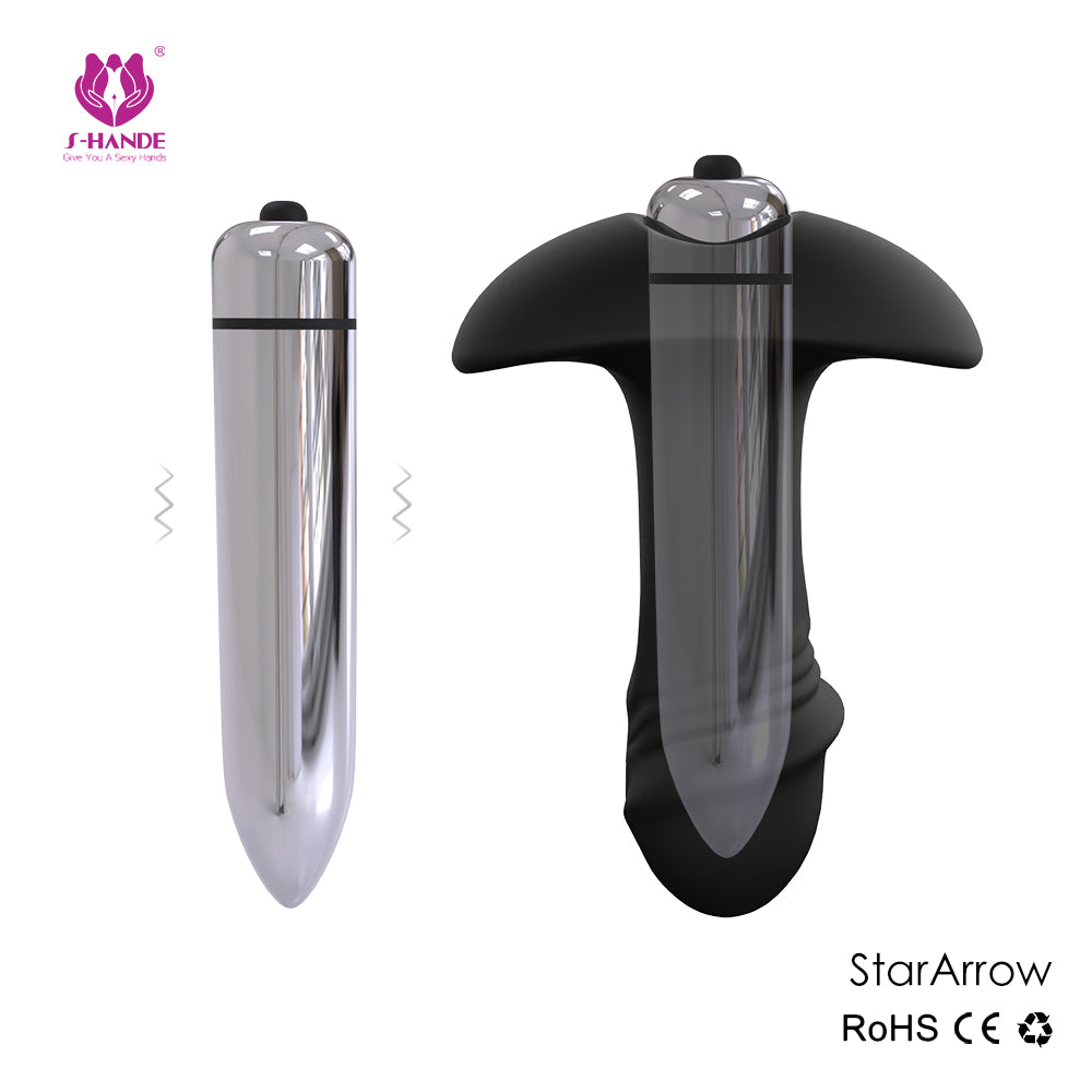 2in1 Vibrating Anal Butt Plug