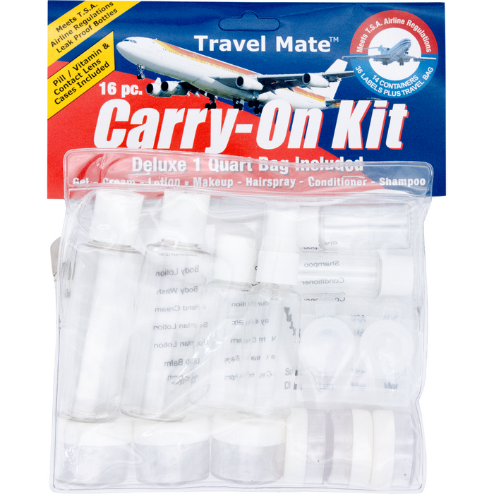 Travel Mate Carry-On-Kit - Pack of 16