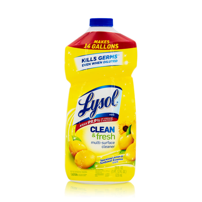 Lysol Multi Surface Cleaner - Sparkling Lemon and Sunflower Essence