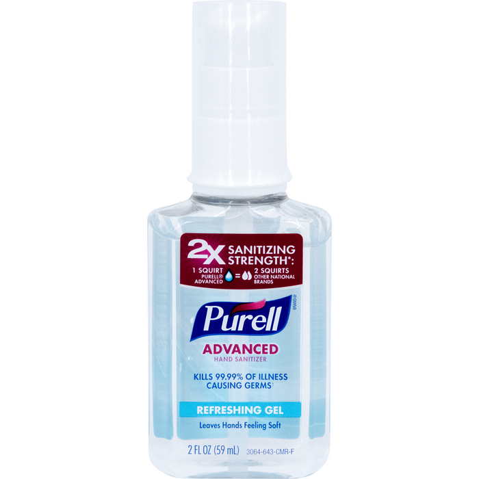 Purell 2 oz. Advanced Hand Sanitizer