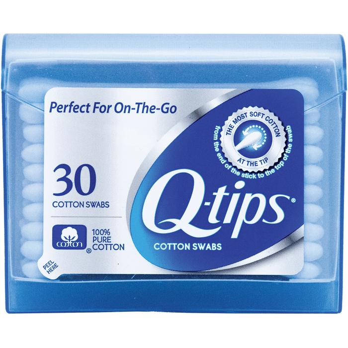 Q-tips Travel Pack Cotton Swabs - 30ct