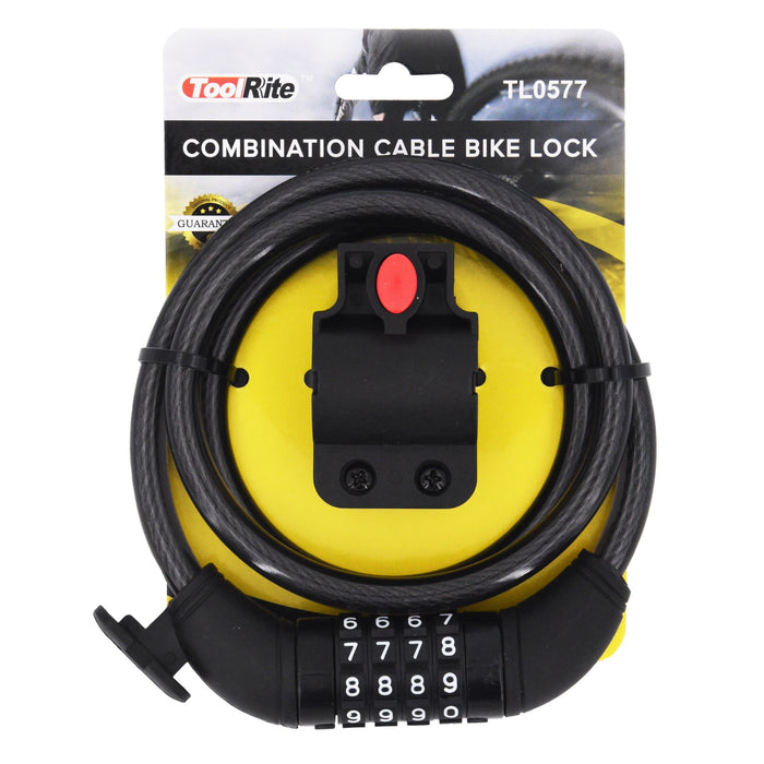 Combination Cable Bike Lock