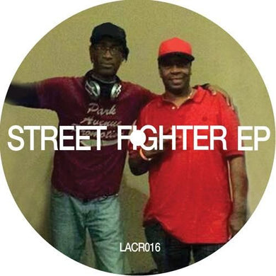 Various  ‎– Street Fighter EP LACR016 front label