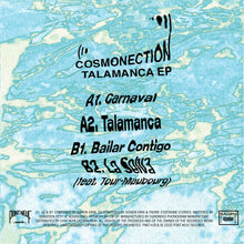 Cosmonection – Talamanca EPCosmonection – Talamanca EP PN014 back cover