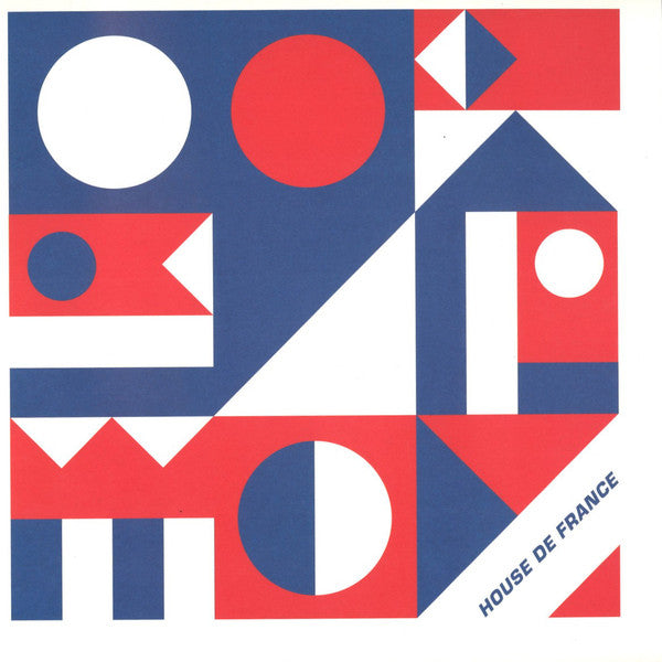 Various - House de France EP CNC001 front cover