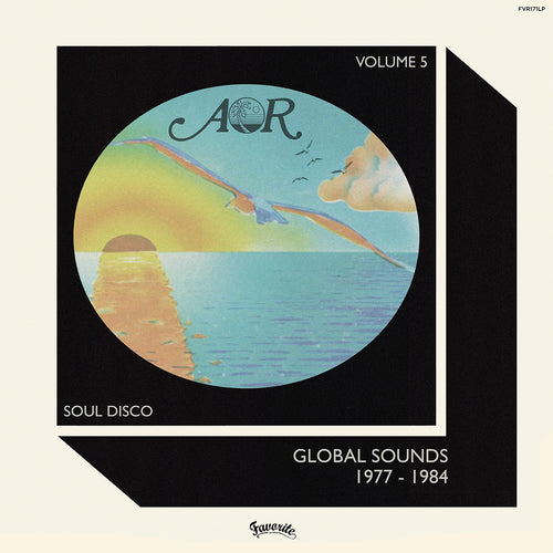 Various - AOR Global Sounds VOL. 5 LP front cover