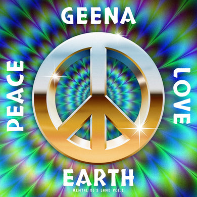 Geena  ‎– Peace Love Earth EP front cover