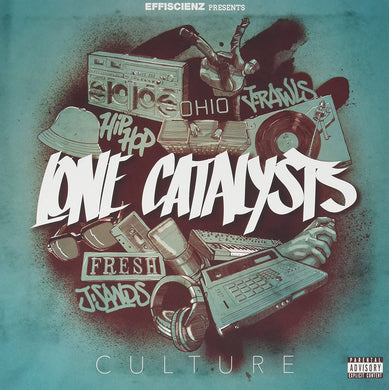 Lone Catalysts - Culture LP front cover