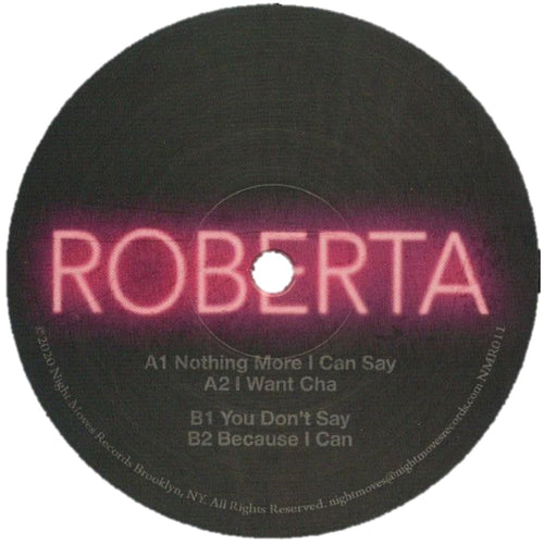 Roberta NMR011 front label