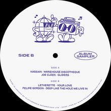 Various - Dancing With Friends EP SBLP001 back label