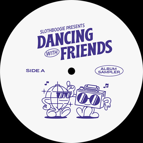 Various - Dancing With Friends EP SBLP001 front label