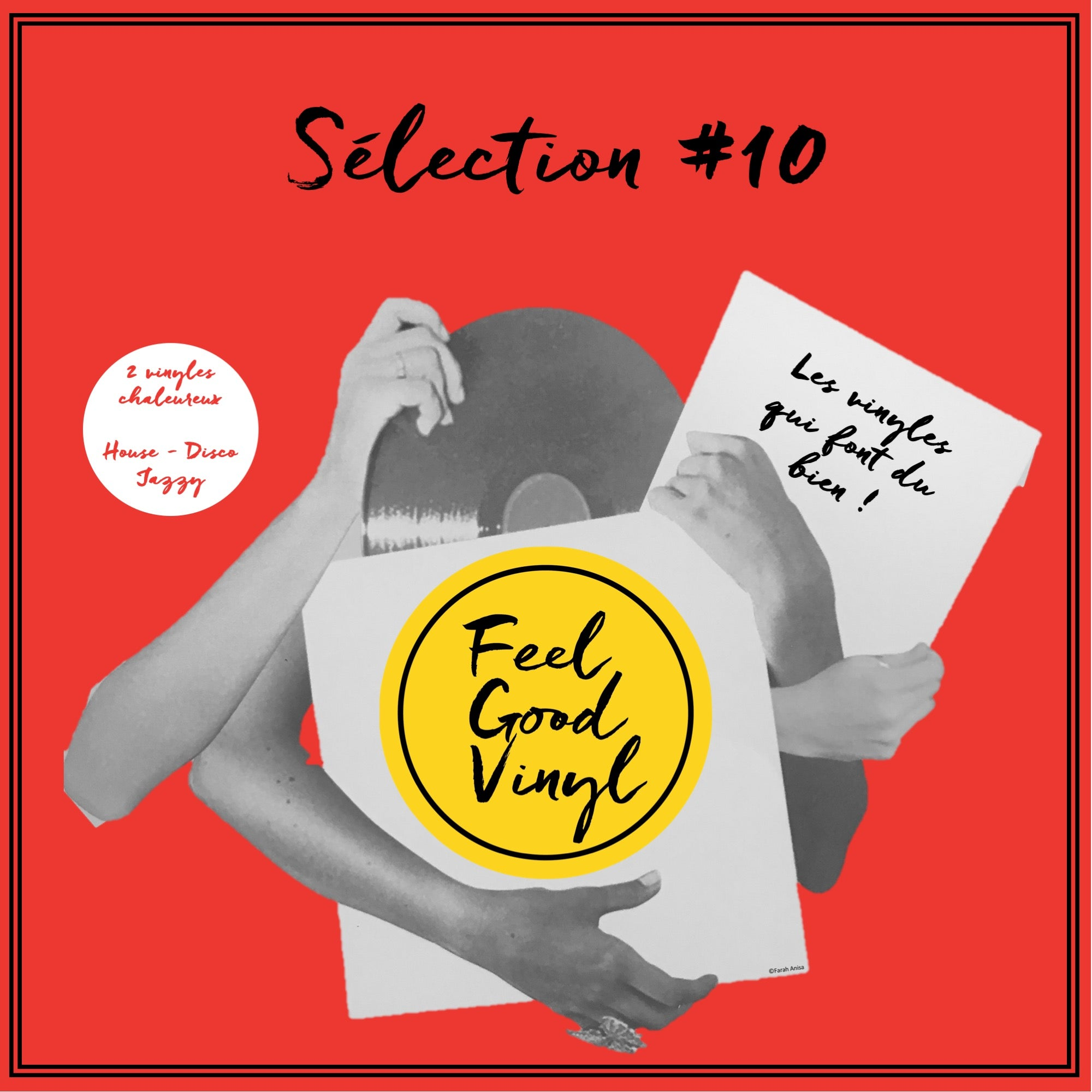 Packaging Feel Good Vinyl - Feel Good Sélection #10 insert front cover