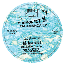 Cosmonection – Talamanca EPCosmonection – Talamanca EP PN014 front label