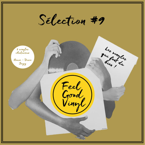 Packaging Feel Good Vinyl - Feel Good Sélection #9 juillet insert front cover